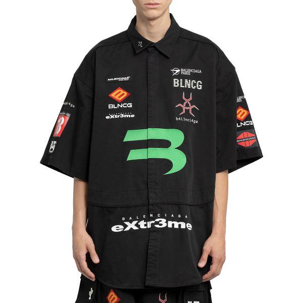Black Gamer Short Sleeve Shirt
