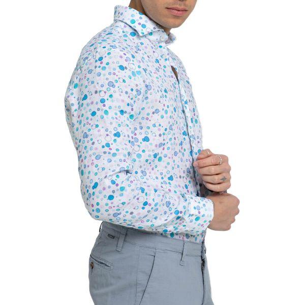 Bubble-Print Shirt
