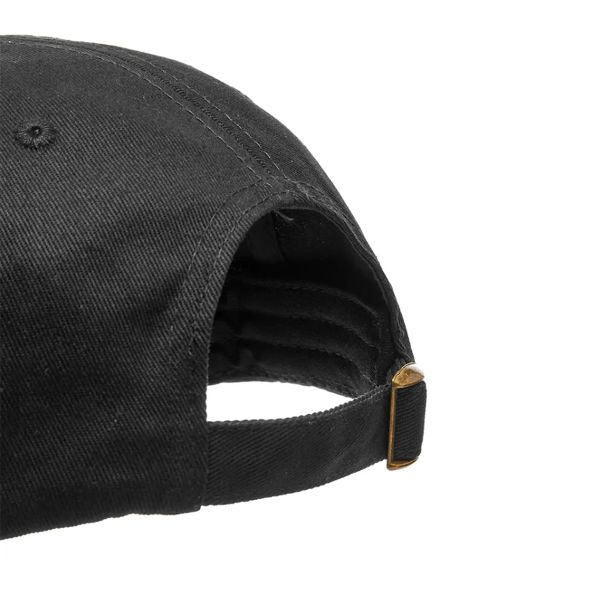 Embroidered Curved Visor Cap