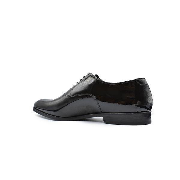 Black Patent Derby Shoes
