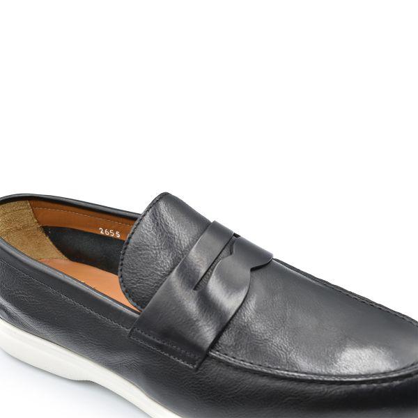 Black Slip-On Loafers