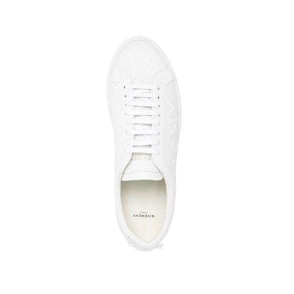 Embossed Logo Low-Key Sneakers
