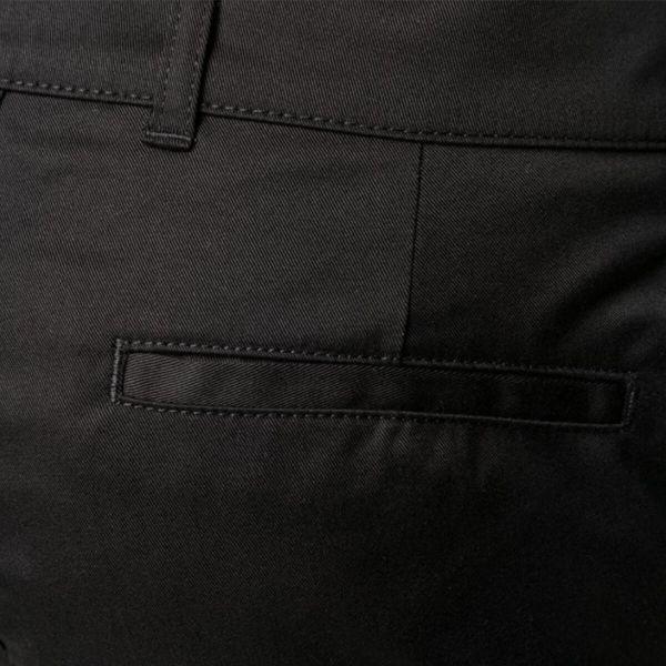 Mid-Rise Slim-Cut Trousers