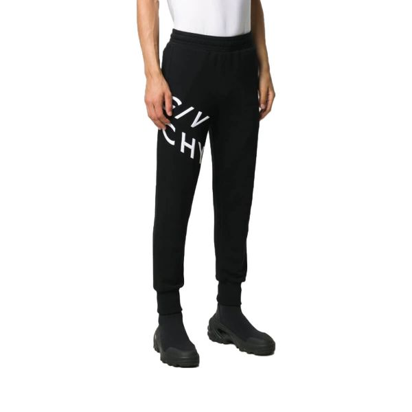 Embroidered Logo Cotton Sweatpants
