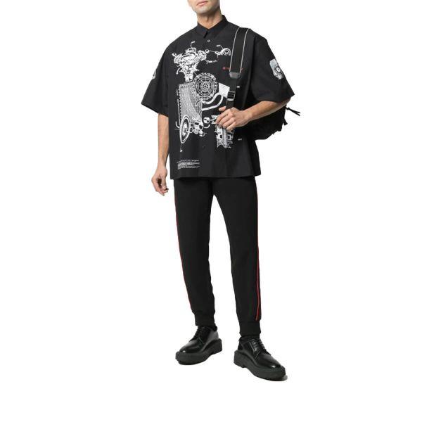Schematics Print Shirt