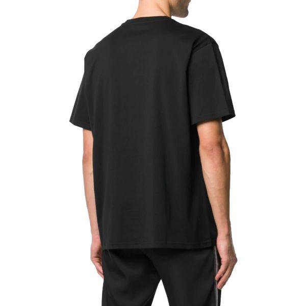 Ribbon Trimmed Logo T-Shirt