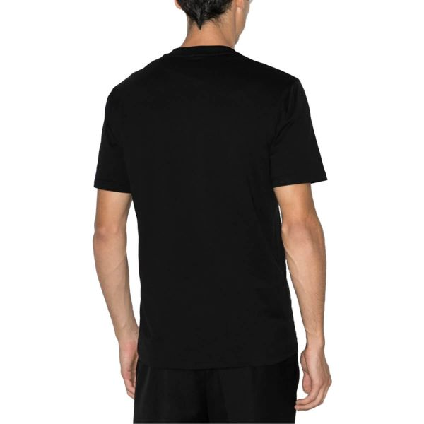 Refracted-Design Logo-Embroidered T-Shirt