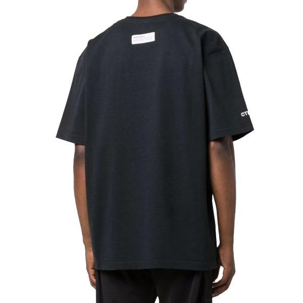 T-Shirt Herons Black Orange