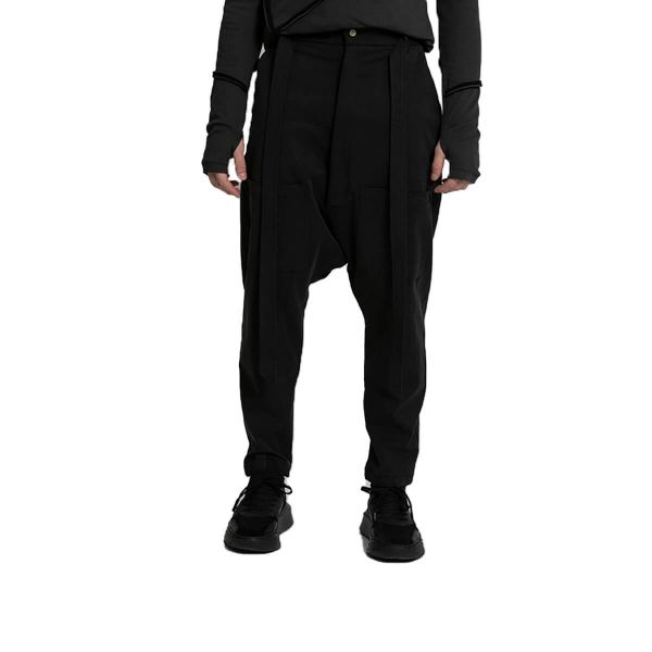 Patch Pocket Trousers