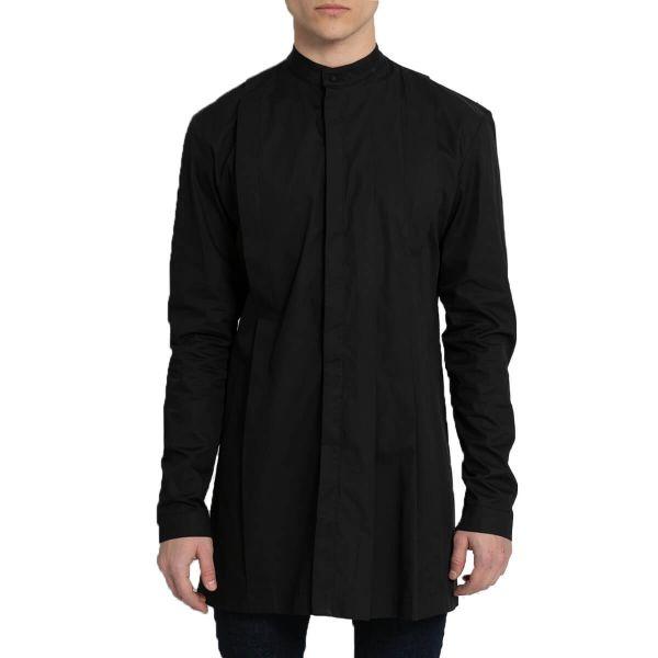 Pleated Shirt/Black