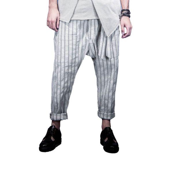 Striped Loose Pants