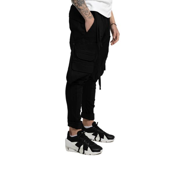 Multi-Pocket Cargo Trousers