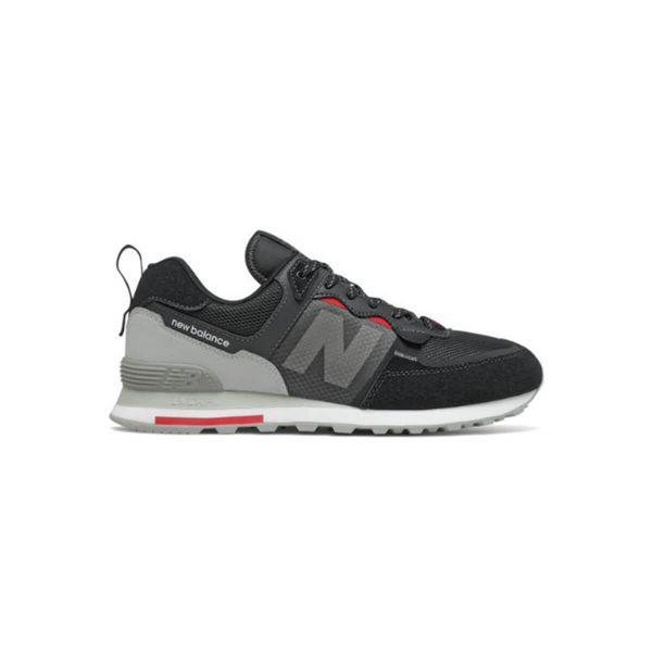 Black/Grey Low-Top Sneakers