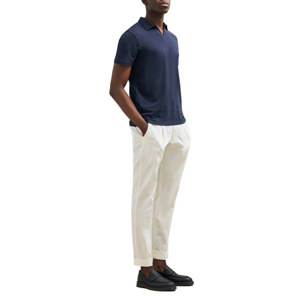 Aron Cropped Pants/White