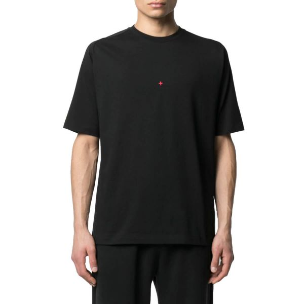 Logo Print T-Shirt/Black