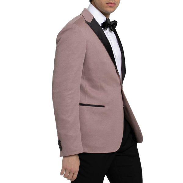 Single-Breasted Blazer/Pink