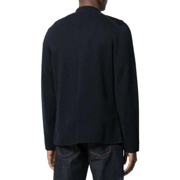 Single-Breasted Cotton Blazer