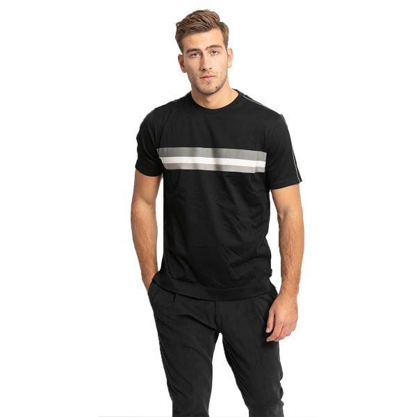 Striped Short-Sleeved T-Shirt