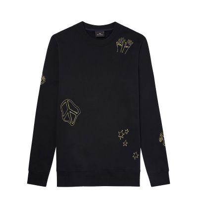 'Dreamscape' Cotton Sweatshirt