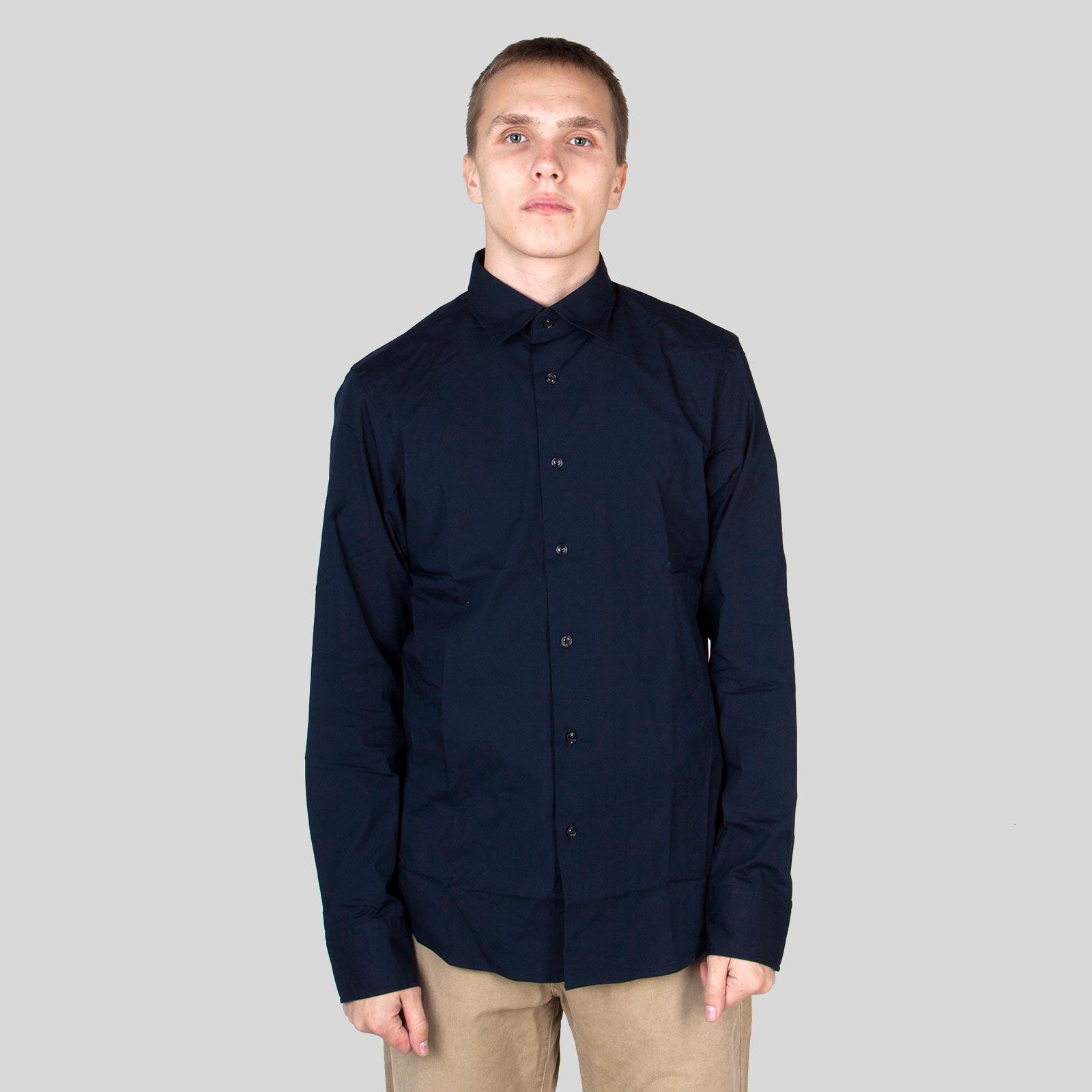 c1170fa445fa Hionidis Μπλε Core Super Slim Dark Blue Shirt G-STAR