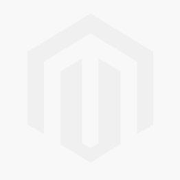 White Leather Monochrome Check Pattern 'Basso' Trainers